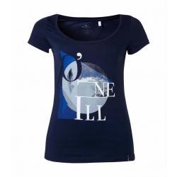 T-SHIRT damski O'neill LW FREE S/SLV TEE Blue Print
