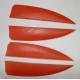 FINY DO DESKI KITE MOSQUITO Orange Red Black White Gwint M6
